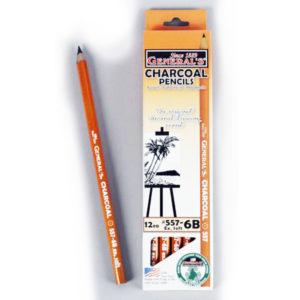 General's Charcoal Pencils 557-6B