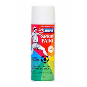 Abro Spray Paint | Gloss White 400ml