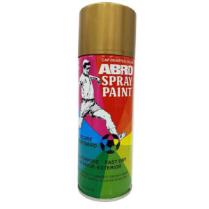 Abro Spray Paint | Gold Dorado 400ml