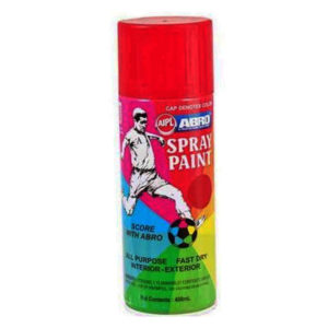 Abro Spray Paint | Regular Red 400ml