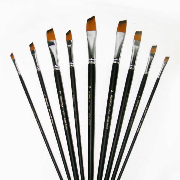 Bomega Artist Angle Brush Set