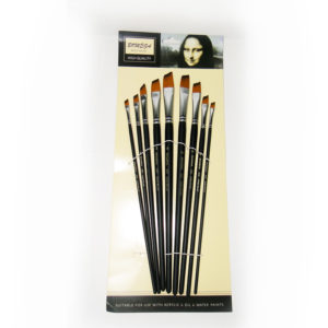 Bomega Artist Angle Brush Set