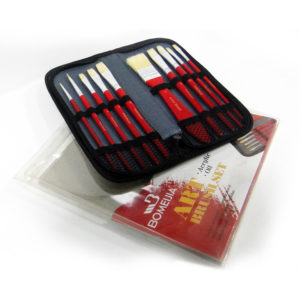 Bomeijia Zipped Case Art Brush Set
