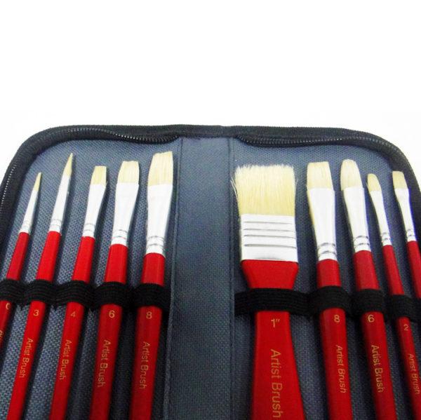 Bomeijia Zipped Case Art Brush Set