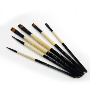 Corot Artist Mixed Paintbrush Set