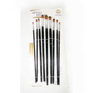 PWB Panwenbo Filbert Artist Brush Set