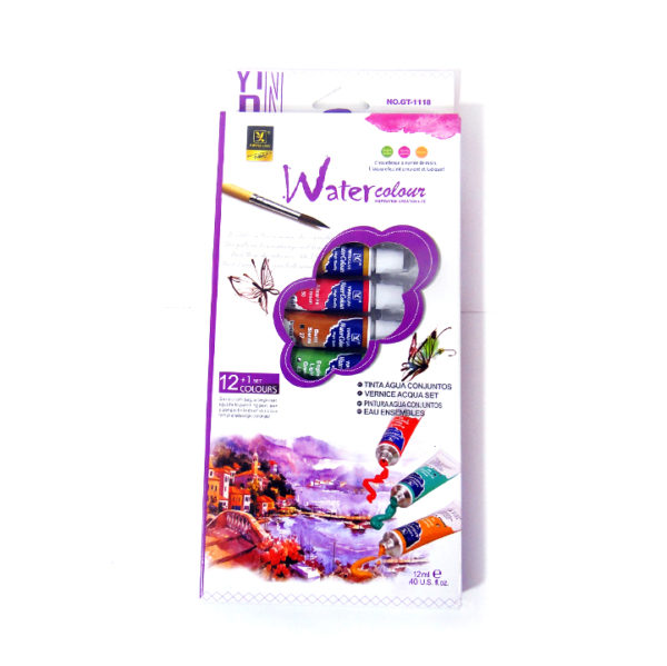Yipinxuan Water Colour Paint Set | 12 Tubes