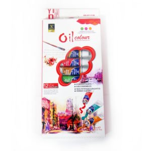 Yipinxuan Oil Colour Paint Set | 12 Tubes