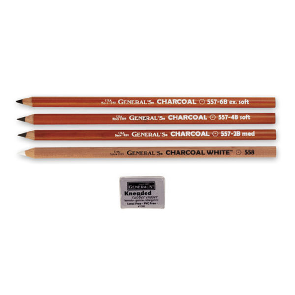General's Charcoal Pencil Drawing Kit