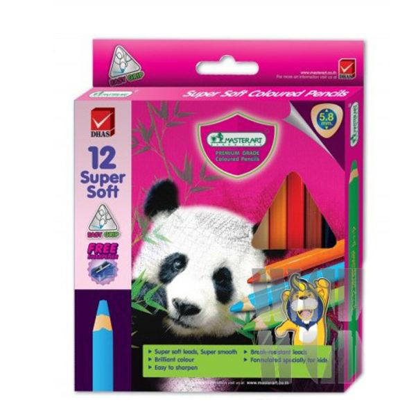MasterArt Super Soft Coloured Pencils