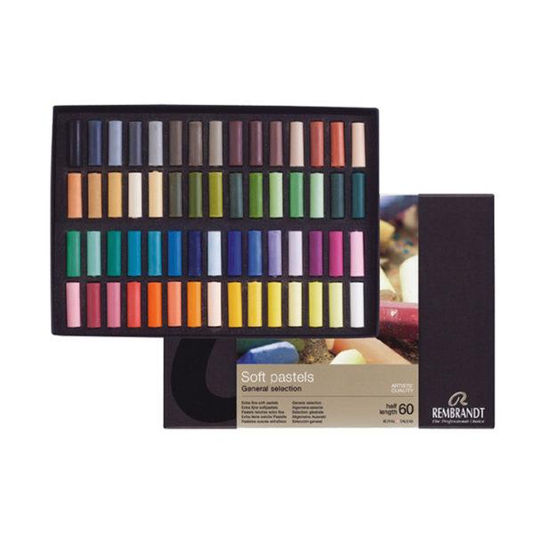 Rembrandt Professional 60pcs Soft Pastel Set