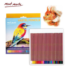 24pcs Mont Marte Pastel Pencils Set