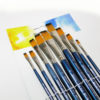 Worison Artist 9pcs Flat Paintbrush Set