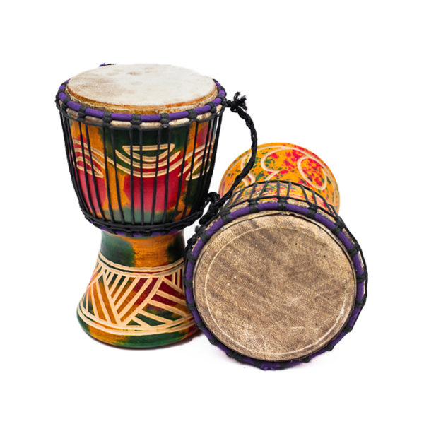 African Hand Percussion Djembe Drums