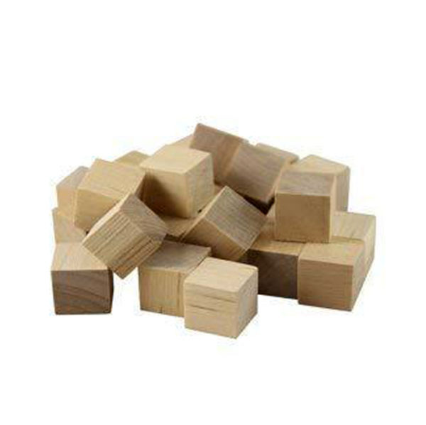 Wooden Craft Cubes