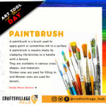 Getting Started with Paintbrushes | Crafts Village Nigeria