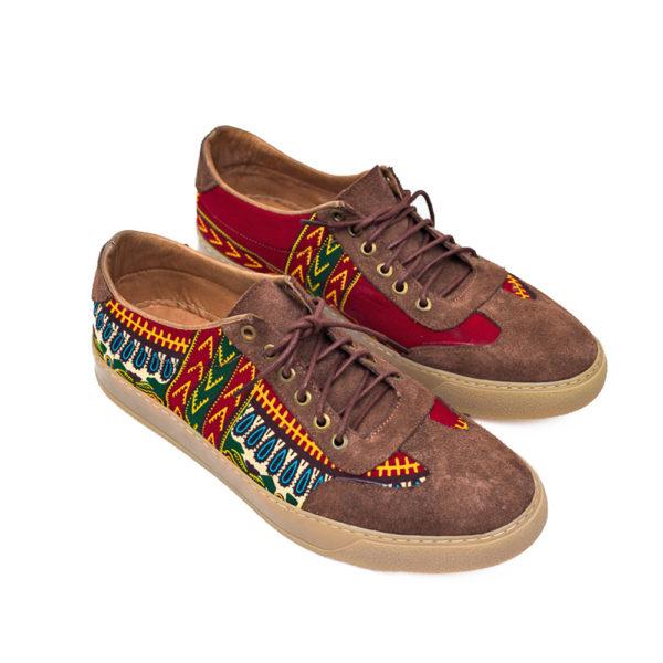 Men's Danshiki Ankara Sneakers