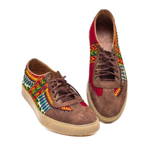 Men's Danshiki Ankara Sneakers