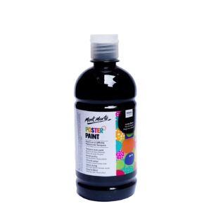 500ml Mont Marte Kids Poster Paint - Black