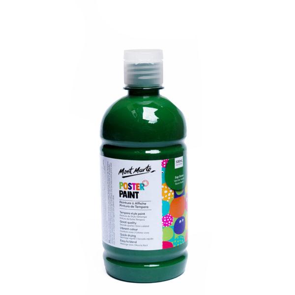 500ml Mont Marte Kids Poster Paint - Sap Green