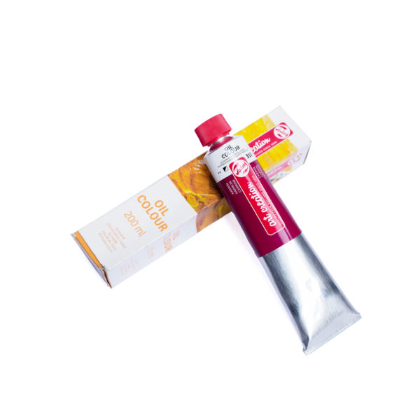 200ml Talens Art Creation Oil Colour - Carmine