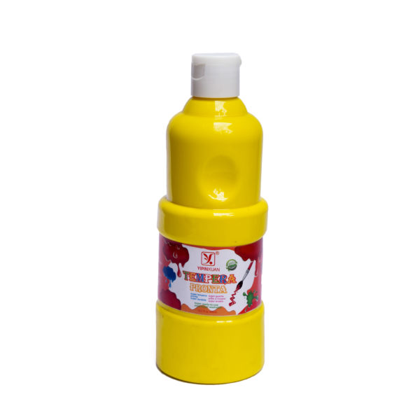 450ml Tempera Pronta Gouache Paint - Yellow