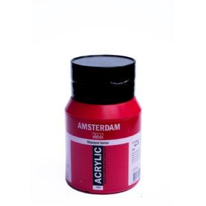 500ml Amsterdam Acrylic Paint - Naphthol Red Medium