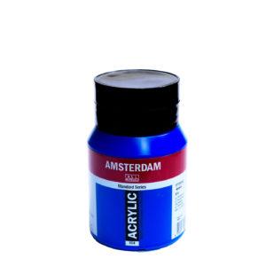 500ml Amsterdam Acrylic Paint - Ultramarine