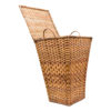 Handwoven Cane Laundry Baskets