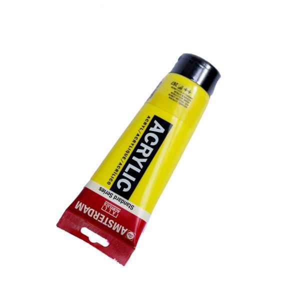 120ml Amsterdam Acrylic Paint - Azo Yellow Lemon