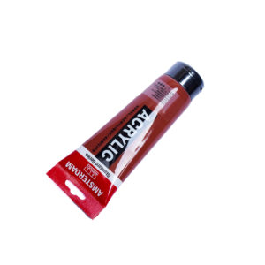 120ml Amsterdam Acrylic Paint - Burnt Sienna