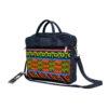 Aztec Ankara & Jean Laptop Bag