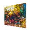 17x17' Market Scene Abstract Oil Painting