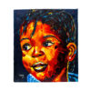 "35x39"" The African Child Painting"