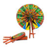 Foldable Kente Handfans