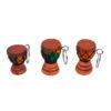 Mini African Drum Keyholder