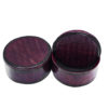 Round African Mini Leather Box