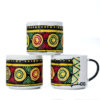 Aztec Handcrafted African Coffee Mugs