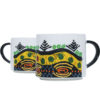 Yellow Handcrafted African Coffee Mugs