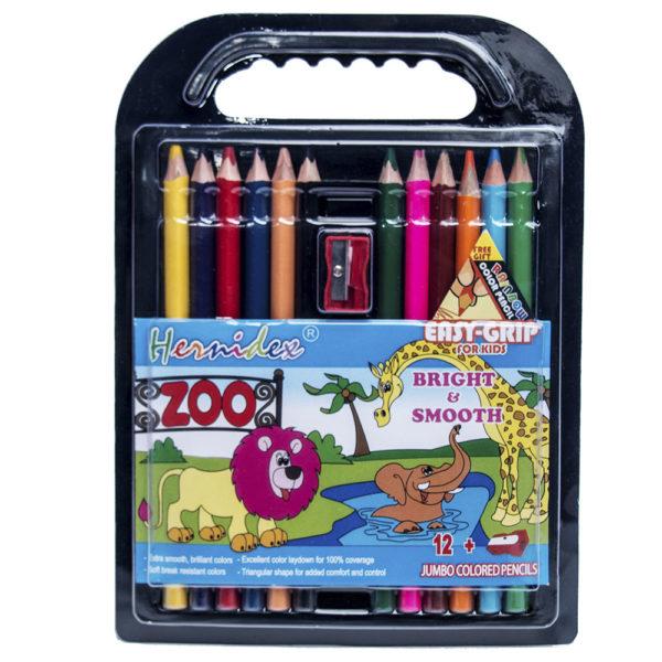 12pcs Hermidex Coloured Pencil Set for Kids