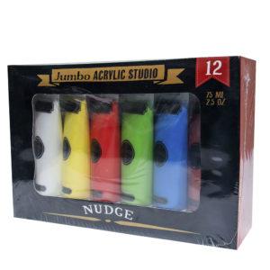 Nudge Jumbo Acrylic Studio Paint Set