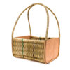 Long Handle Raffia Shopping Basket
