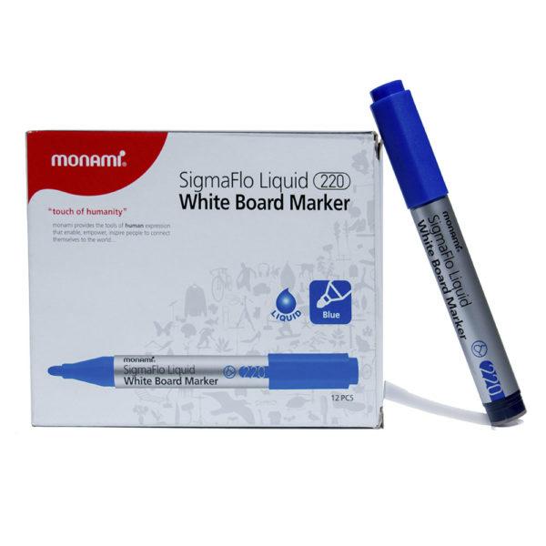 Blue Monami SigmaFlo Liquid White Board Marker