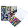 24pcs Superman Theme Color Pencil Set
