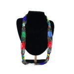 African Multicolor Mvovo Beaded Necklace
