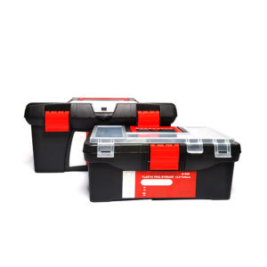 19-inches Heavy-Duty Plastic Toolbox