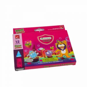 DHAS 12 Color Super Jumbo Crayons