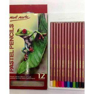 Mont Marte 12pcs Pastel Pencils