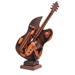 Wooden Decorative Guitar Stand