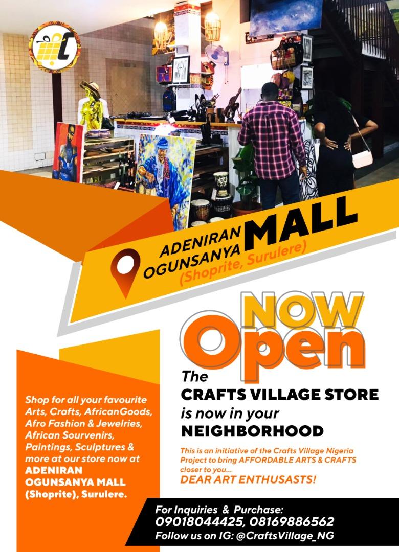 CraftsVillage African Art Store 1